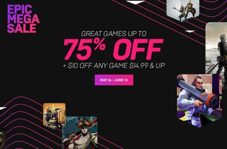 event sale epic game store
